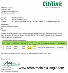 Jadwal Pesawat Jakarta (CGK) Silangit (DTB)